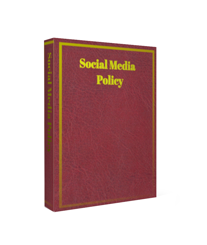 employee social media policy template.html